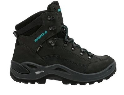 Anthracite/Turquoise - Lowa Renegade GTX Mid Ws
