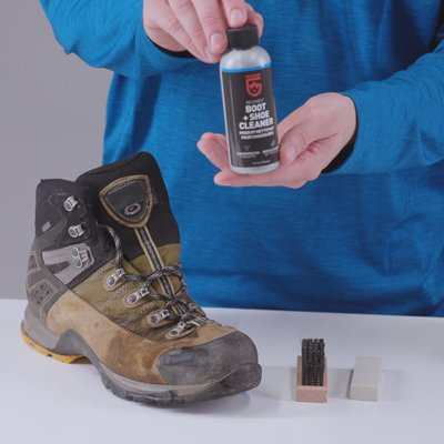 - Gear Aid (McNett) Revivex Suede and Fabric Boot Care Kit