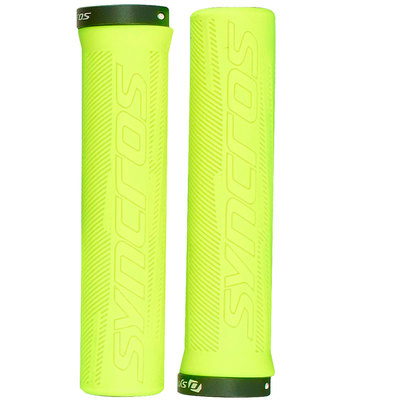 Neon Yellow - Syncros Grips Pro, Lock-On