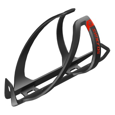 Black/Spicy Red - Syncros Bottle Cage Coupe Cage 1.0