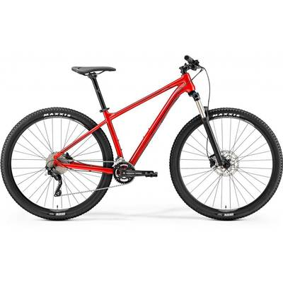 Metalic Red(Dark Red/Black) - Merida Bikes 2019 Big.Nine 300
