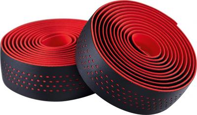 BLACK / RED (DOTS) - Merida Bikes Soft Microfiber Bartape