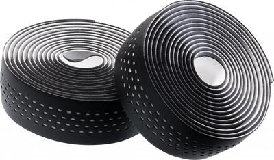 BLACK / WHITE (DOTS) - Merida Bikes Soft Microfiber Bartape