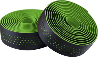 BLACK / GREEN (DOTS) - Merida Bikes Soft Microfiber Bartape