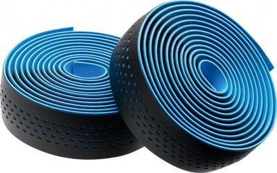 BLACK / BLUE (DOTS) - Merida Bikes Soft Microfiber Bartape