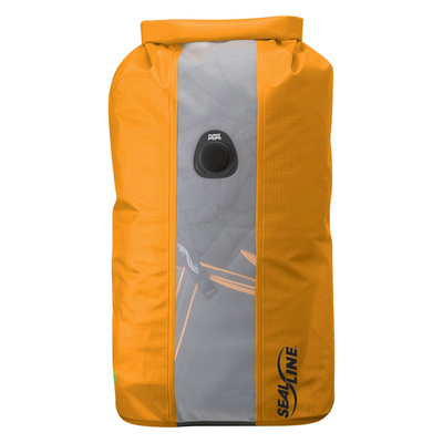 Orange - Seal Line Bulkhead View Dry Bag 30L