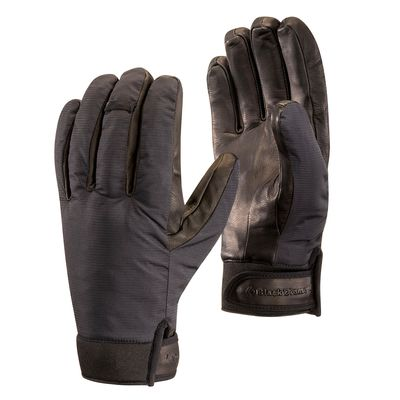 Black - Black Diamond Heavyweight Waterproof Gloves