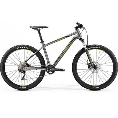 SILK ANTHRACITE (GREEN/BLACK) - Merida Bikes 2020 Big.Seven 300