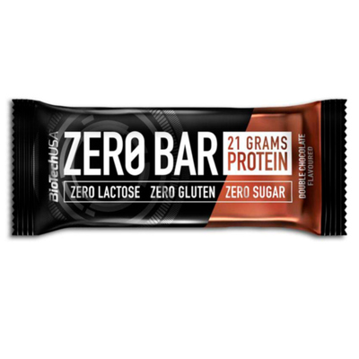 Double Chocolate - Nutrend Zero Bar