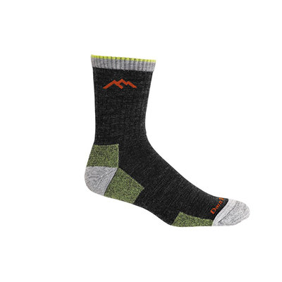 Lime - Darn Tough Hiker Micro Crew Sock Cushion