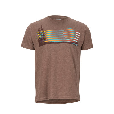 Olive Heather - Marmot Verge Tee SS