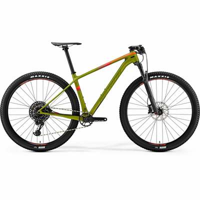 Matt Pine Green(Red) - Merida Bikes 2019 - BIG.NINE 6000