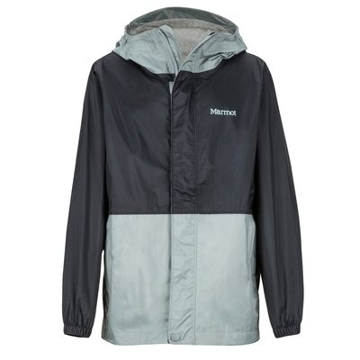 Black/Grey Storm - Marmot Boy's PreCip Eco Jacket