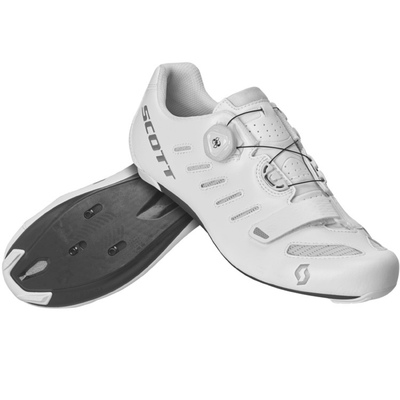 White/Silver - Scott Shoe Road Team Boa