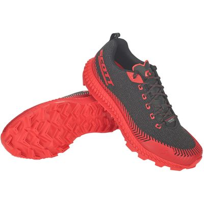 BLACK/red - Scott Shoe Supertrac Ultra RC