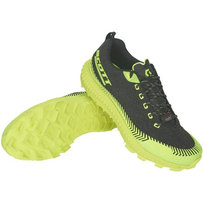BLACK/yellow - Scott Shoe Supertrac Ultra RC