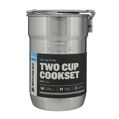 Stanley Adventure 2-Cup Set SS .7 lt.-25 oz.
