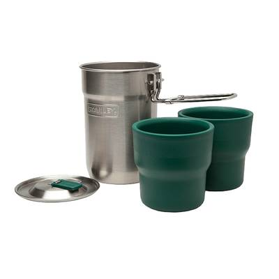 - Stanley Adventure 2-Cup Set SS .7 lt.-25 oz.