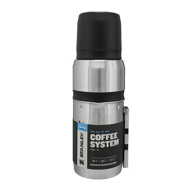 Adventure Vacuum Bottle SS Coffee System - Stanley Adventure Vacuum Bottle SS Coffee System
