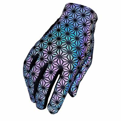 Vista con Luz - Supacaz Supa G Long Glove Oil Slick