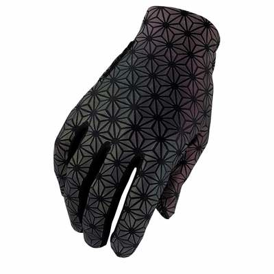 Oil Slick - Supacaz Supa G Long Glove Oil Slick
