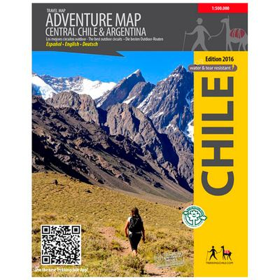 Viachile Adventure Map Central Chile & Argentina