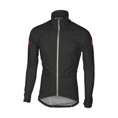 Black/White - Castelli Emergency Rain Jckt