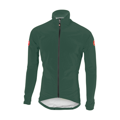 Forest Gray/Yellow Fluo - Castelli Emergency Rain Jckt