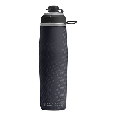 Black/Silver - CamelBak Peak Fitness Chill 25 oz