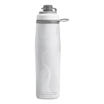 WHITE/SILVER - CamelBak Peak Fitness Chill 25 oz