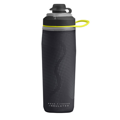 Black/Silver - CamelBak Peak Fitness Chill 17 oz
