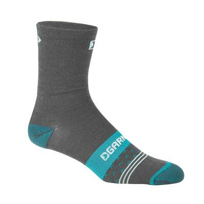 Grey/Green - Garneau Women`S Merino 60 Socks