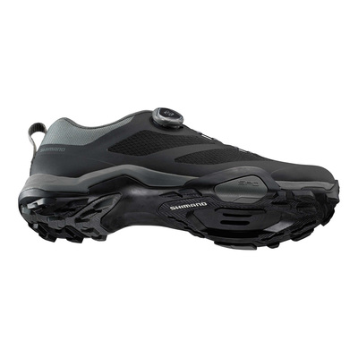 Black LATERAL Y SUELA - Shimano SH-MT7