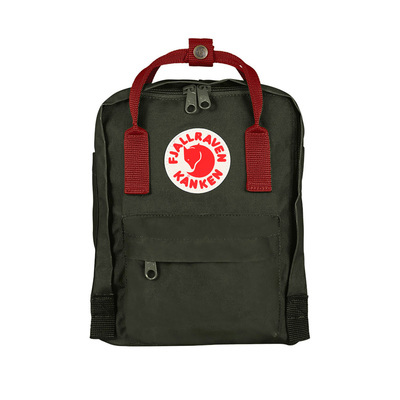 Black/Ox Red - Fjallraven Kanken