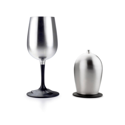 - GSI Glacier Stainless Nesting Wine Glass