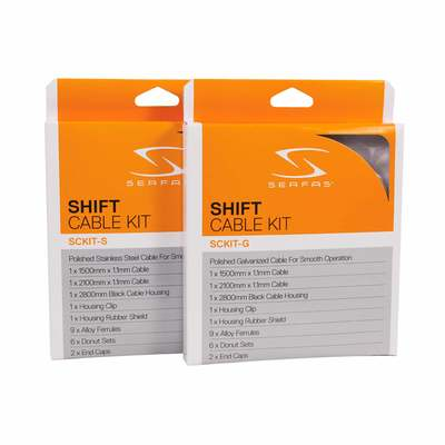 Serfas Shift Cable Kit Gal Steel