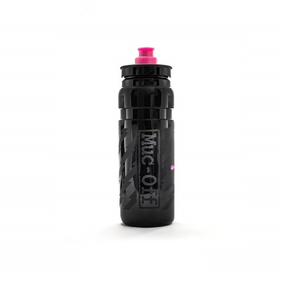 Muc-Off Black Custom Fly Water Bottle