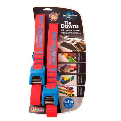 Sea to Summit Tie Down with Silicone Cover 5.5 metre Double Pack