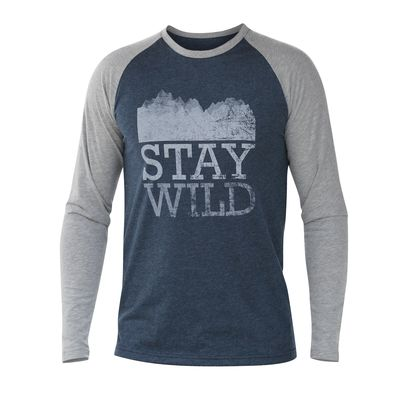 Tatoo TMountain L/S Tee Men Stay Wild