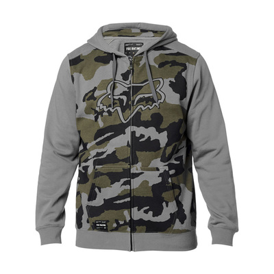 Fox Destrakt Camo Zip Fleece