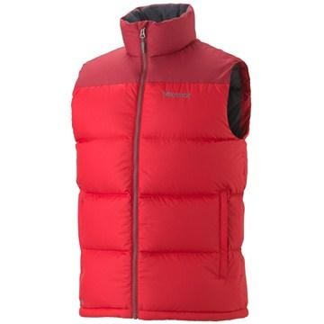 TEAM RED/BRICK - Marmot Guides Down Vest