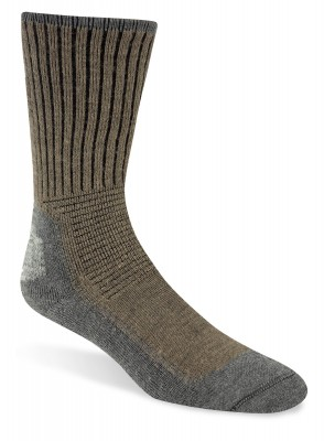 DARK KHAKI HEATHER - Wigwam Hiking Outdoor Pro