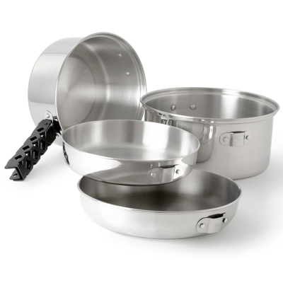 GSI Glacier Stainless Cookset Md