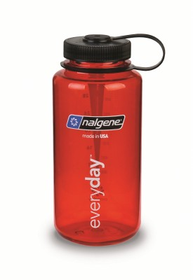 Red w/ Black - Nalgene 32oz WM Loop-Top Closure