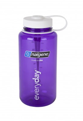 Purple w/ White - Nalgene 32oz WM Loop-Top Closure