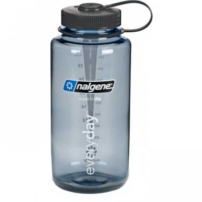 Gray, Everyday, Black - Nalgene 32oz WM Loop-Top Closure