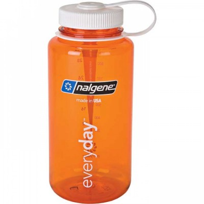 Orange w/ White - Nalgene 32oz WM Loop-Top Closure