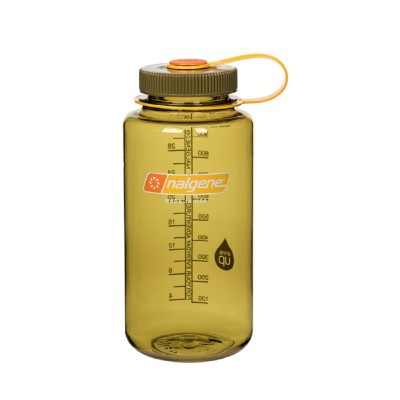 OLIVE W/ DARK OLIVE - Nalgene 32oz WM Loop-Top Closure