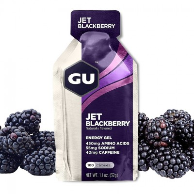 Jet Blackberry - GU Gel