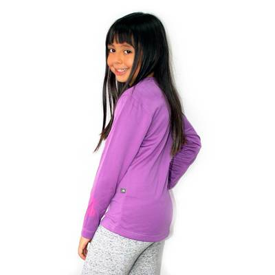 - Tatoo Light Weight L/S Tee Girl
